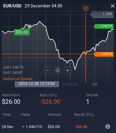 second trade IQOption